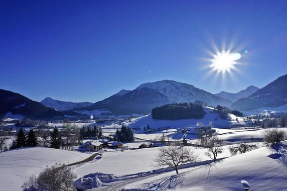 Bojernhof in Ruhpolding Winter